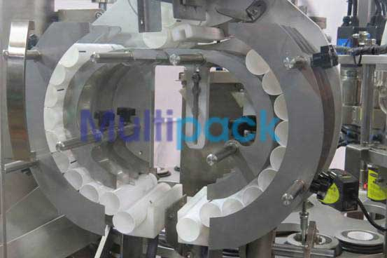 High Speed Double Heads Tube Filler and Seale